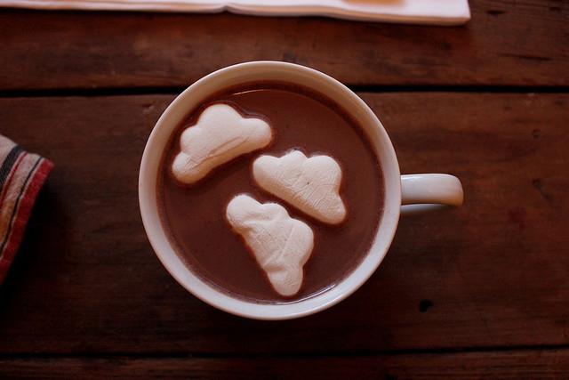 Heiße Schokolade zieht man nicht durch den Kakao!