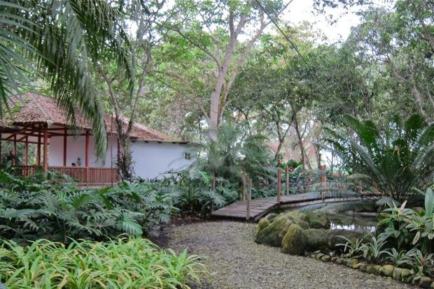 Botanischer Garten mit Unterkunft Camino Verde © Sarah Krobath