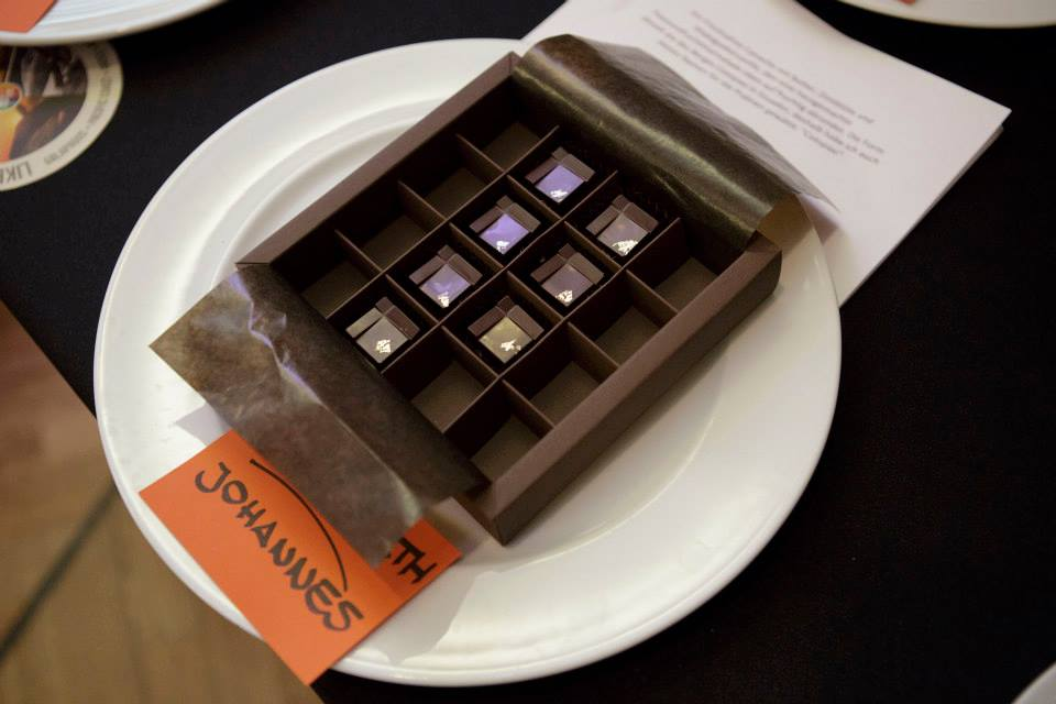 Die Siegerpraline von Johannes Storath © Schokolade aus Ecuador